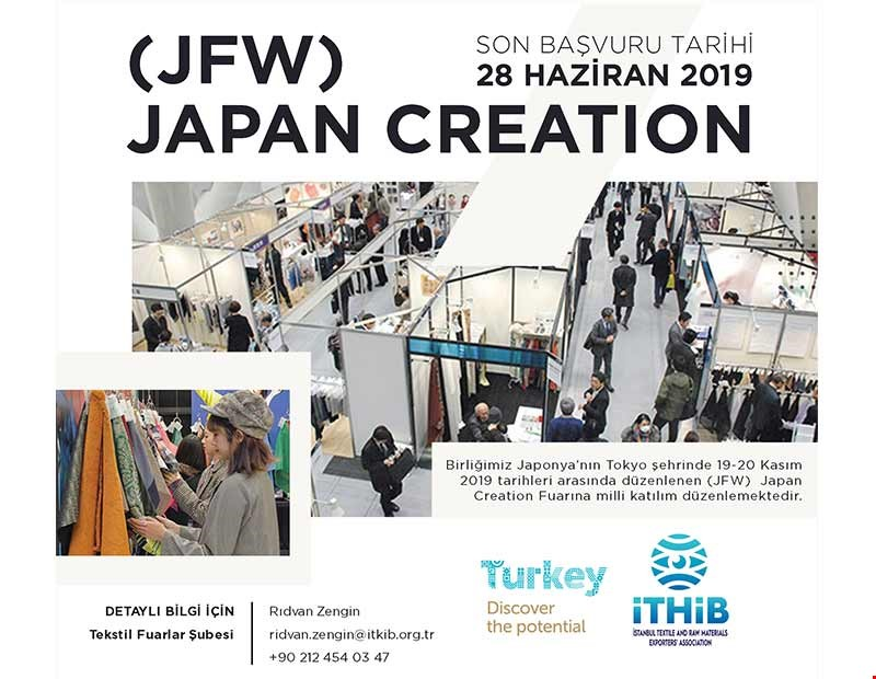 (JFW) JAPAN CREATION FUARI MİLLİ KATILIM DUYURUSU